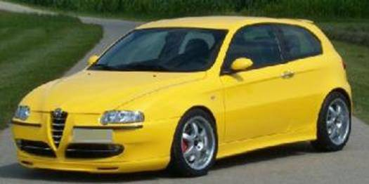 Frontlippe Alfa 147